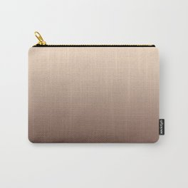 RoseGold Stripes Carry-All Pouch