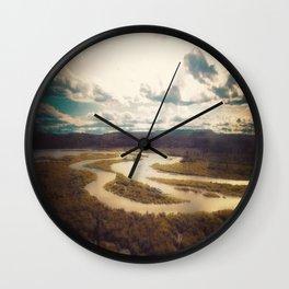 Meander Wall Clock