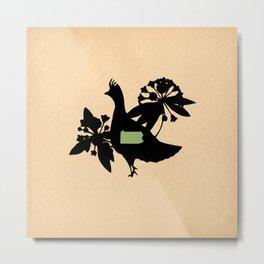 Pennsylvania - State Papercut Print Metal Print