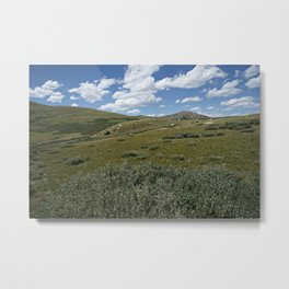 Guanella Pass Slopes Metal Print