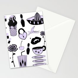 Switchblades Stationery Cards
