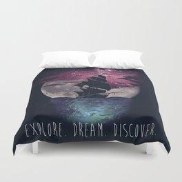 Explore. Dream. Discover. Duvet Cover