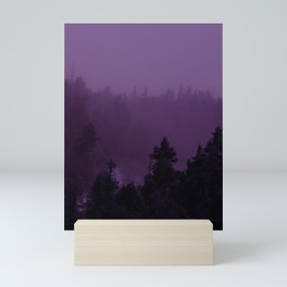Purple Fog Mini Art Print
