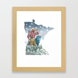 Minnesota Paul Framed Art Print
