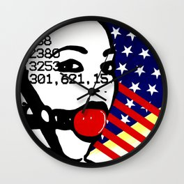 Silence is Acceptance Wall Clock