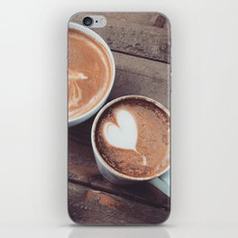 Coffee for two iPhone Skin