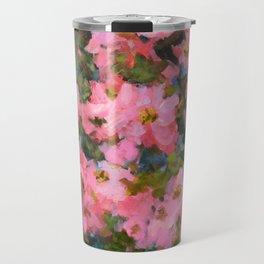 Spring Apple Blossoms Travel Mug
