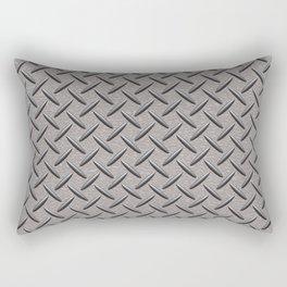 Diamond Deck Plate Rectangular Pillow
