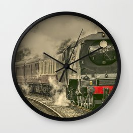 Lancashire Bulleid Wall Clock