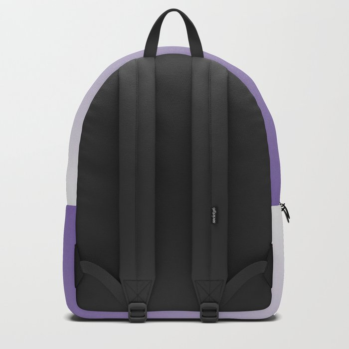 Lavender to White Backpack