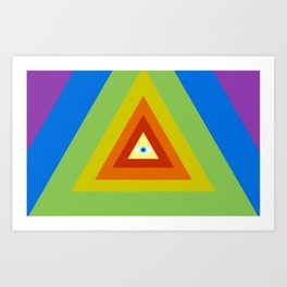 All Seeing, All Knowing Art Print