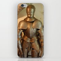 knight iPhone & iPod Skins featuring Knight by SlothgirlArt