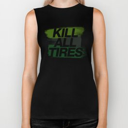 Kill All Tires v4 HQvector Biker Tank