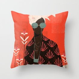 Kalemba II Throw Pillow