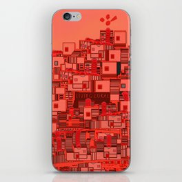 Living The Living Coral iPhone Skin