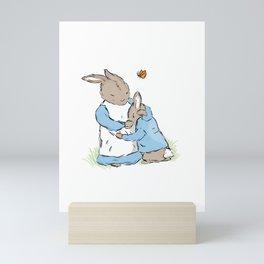 Mama Rabbit Mini Art Print