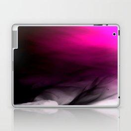 Pink Flames Pink to Black Gradient Laptop & iPad Skin