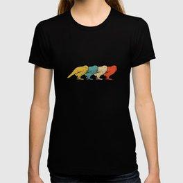 Vintage Retro Pop Art Kakapo Bird T-shirt
