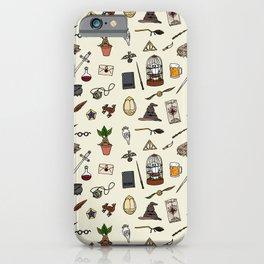 Potter Harry pattern iPhone Case
