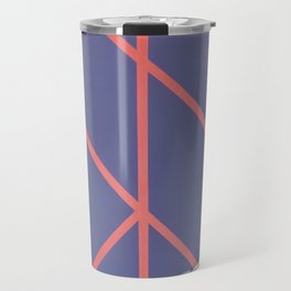 Leaf - diamond graphic Travel Mug