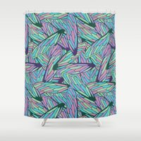 wings Shower Curtains featuring Wings by AnaAna