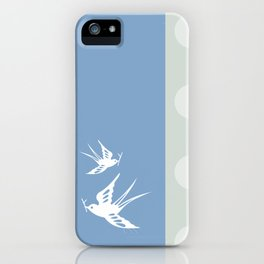 Your indies swallows iPhone Case