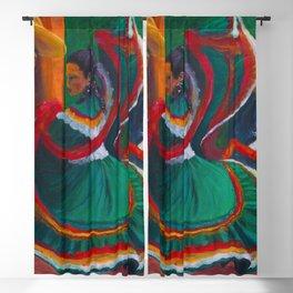 Baile Folklorico Blackout Curtain