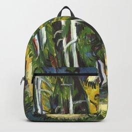 Ernst Ludwig Kirchner Forest Gorge at Staffel c1938 Backpack
