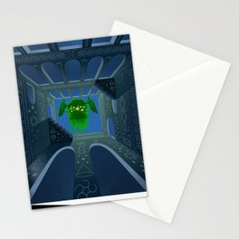 Cthulhu is rising Stationery Cards