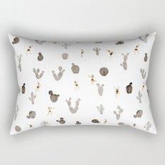 Black and white desert Rectangular Pillow