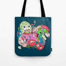 Teenage Mutant Scribble Turtle Tote Bag