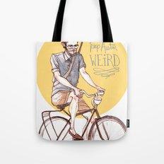 Keep Austin Weird by Kat Mills Tote Bag
