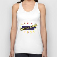 thailand Tank Tops featuring Thailand by mailboxdisco