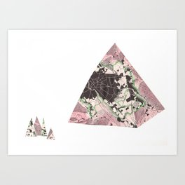 radiant sounds Art Print