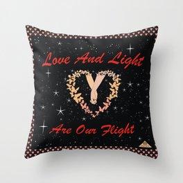 OurFlight Throw Pillow