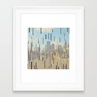 dallas Framed Art Prints featuring Dallas by Cale potts Art