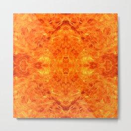 flame pattern Metal Print