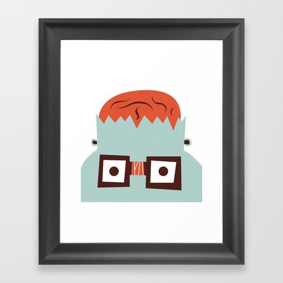 The Monster Club - Monster #4 Framed Art Print