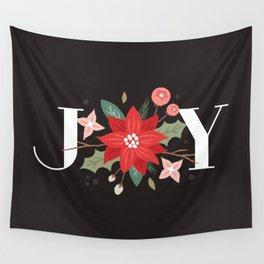 Joy Flourish - Slate Wall Tapestry