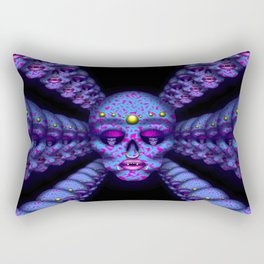 Pierced Skull 3 Rectangular Pillow