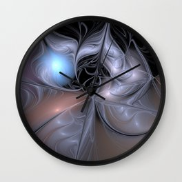 Lair of the Ice Dragon Wall Clock