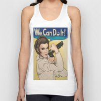 leia Tank Tops featuring Leia by seventhwonderwitch