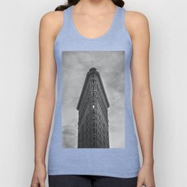 Flat Iron Building - New York Unisex Tank Top