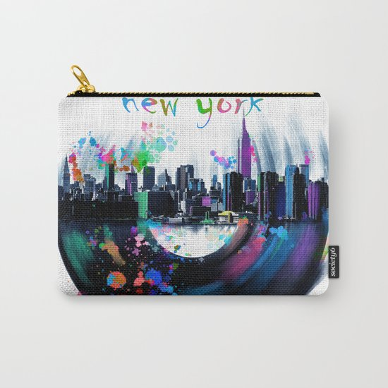 new york city music3 Carry-All Pouch