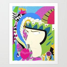 Jester Art Print