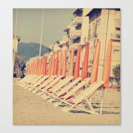 Sunday in Viareggio, Italy Canvas Print