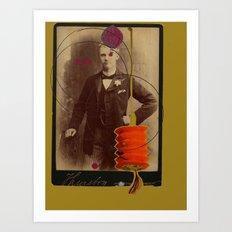 victorian gentleman  Art Print