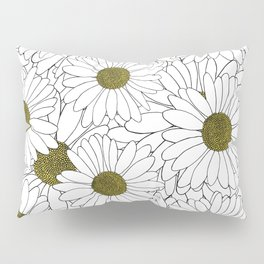 Daisy Yellow Pillow Sham