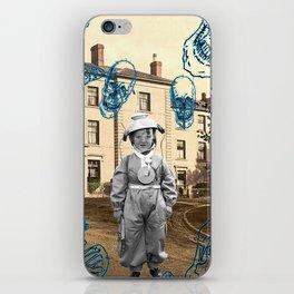 haunted child iPhone Skin