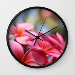 He Pua Lahaole Ulu Wehi Aloha Wall Clock